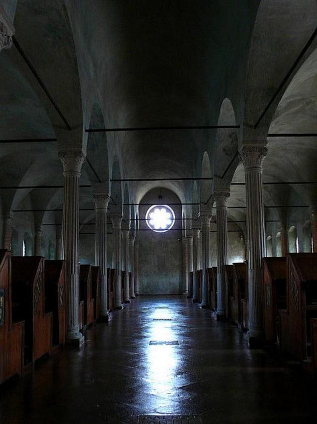 Biblioteca Malatestiana di Cesena. Foto Federico Pelloni