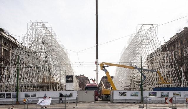 Expo Gate cantiere. Foto F.Romano