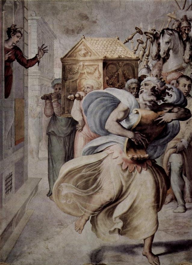 Francesco Salviati, affresco in Palazzo Sacchetti