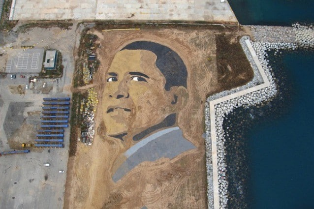 Jorge Rodríguez-Gerada: il re della street-land art