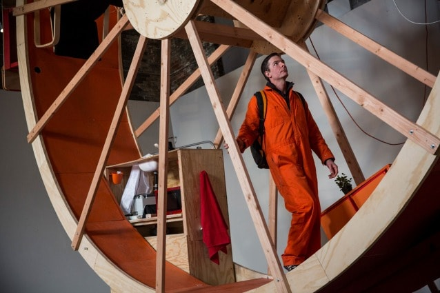 In Orbit by Alex Schweder and Ward Shelley (Photo by Andrew Burton/Getty Images)