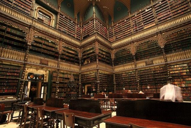 Real Gabinete Português de Leitura. Photo Mathieu Bertrand Struck