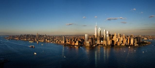 Skyline Lower Manhattan – WTC, Silverstein Properties, New York © Silverstein Properties