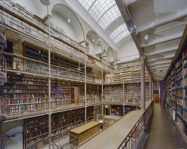 The Rijksmuseum Library, Paesi Bassi