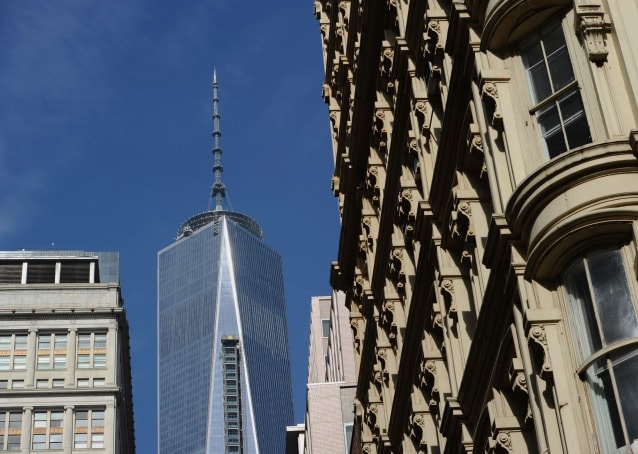 One World Trade Center. Photo STAN HONDA/AFP/Getty Images