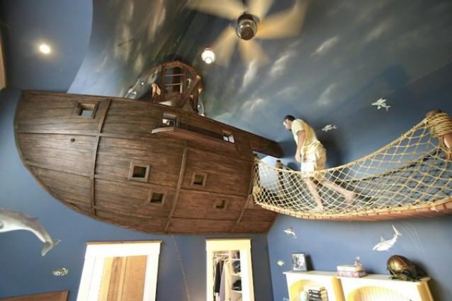 Letto A Forma Di Nave Pirata : Cameretta di pirata camerette di pirati