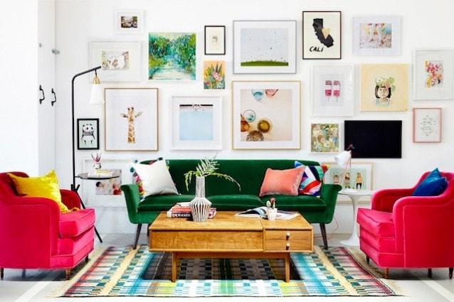 Arredare il soggiorno for Arredamento di design naturale