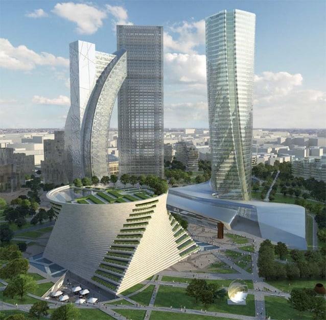 City Life, Milano by Studio Libeskind