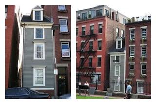 Skinny House: la casa più stretta di Boston nata per un dispetto tra due fratelli