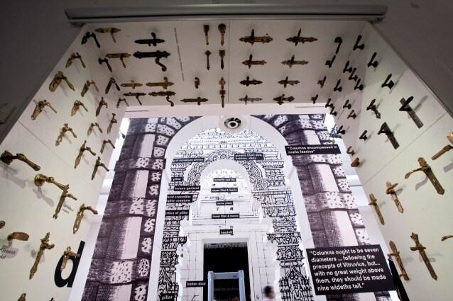 Central Pavilion/ Padiglione Centrale– Elements of Architecture: door. 14.Mostra Internazionale di Architettura, Fundamentals, la Biennale di Venezia. Photo By Francesco Galli. Courtesy la Biennale di Venezia