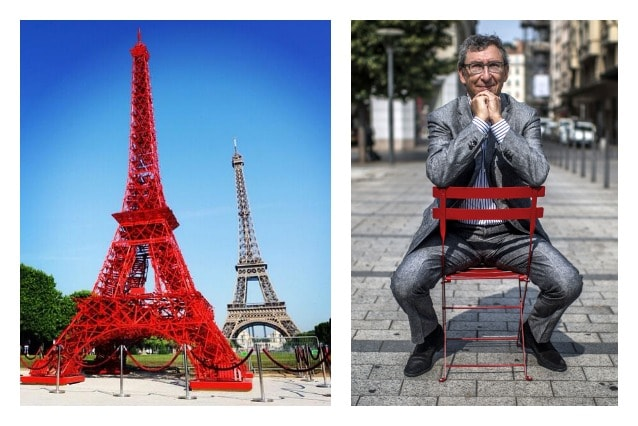 The CEO of the French Fermob furniture company, Bernard Reybier (AFP PHOTO : JEFF PACHOUD)