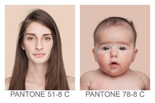 La pelle umana è un Pantone: e tu di che Pantone sei?