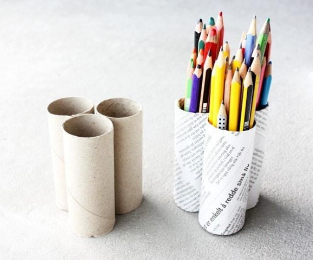 Rotoli Di Carta Igienica : Come riciclare i rotoli di carta igienica in modo creativo