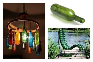 Birra d'estate: 10 modi per riciclare le bottiglie in modo creativo