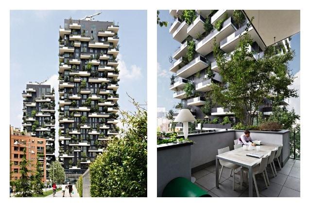 Milano il bosco verticale tra i 5 migliori grattacieli al mondo