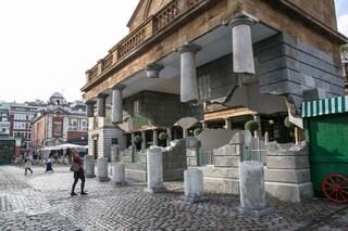 Covent Garden, l'edificio del mercato è libero dalle fondazioni e levita