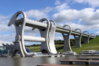 La Ruota di Falkirk, capolavoro d'ingegneria unico al mondo (VIDEO)