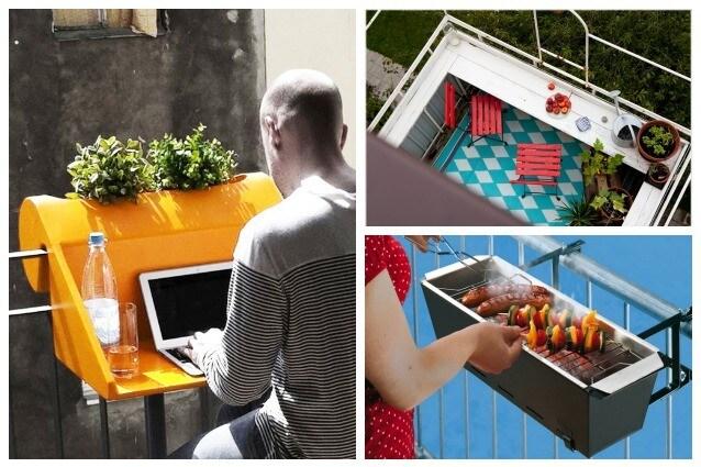 Idee Creative Casa : Idee creative per arredare il vostro balcone