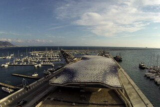 Salerno, il cantiere infinito di Zaha Hadid visto dal drone (VIDEO)