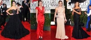Look delle star Golden Globe 2010, foto del red carpet
