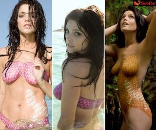 Ashley Greene nuda, da Twilight al bodypainting per SeBo: ecco foto