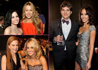 People's Choice Awards 2010, il look delle star sul red carpet
