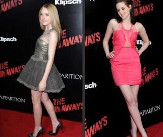 Kristen Stewart e Dakota Fanning a confronto: quale look preferite?