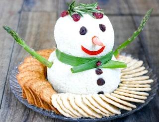 Antipasti natalizi veloci: tartine con formaggio e salmone