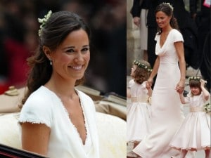 pippa middleton al matrimonio di kate