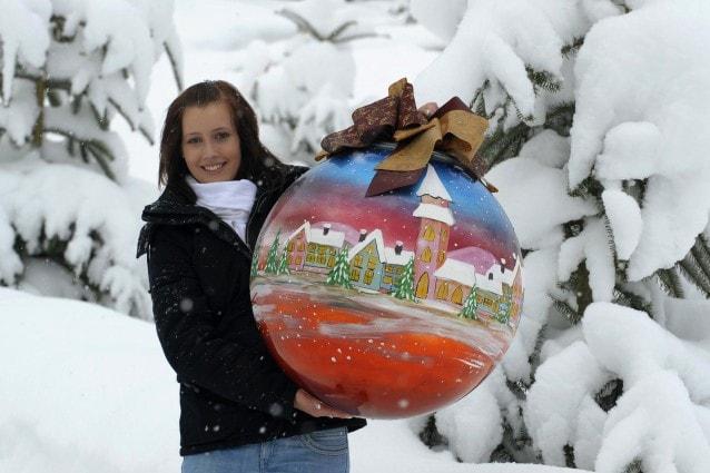 Maxi decorazioni per il Natale 2011