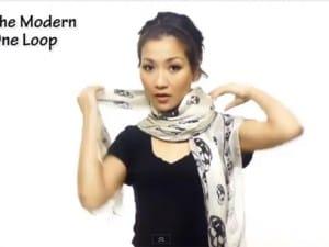 Come sistemare un foulard al collo in meno di 5 minuti