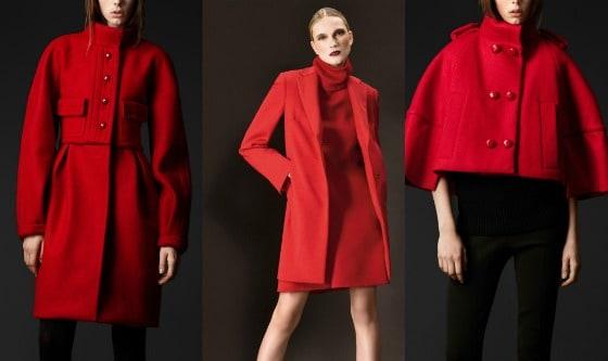 795ca9a4cd Il colore natalizio per eccellenza ricopre giacche e cappotti nell'inverno  del 2011. Celine lancia una linea di cappotti larghi dalle linee squadrate  in ...
