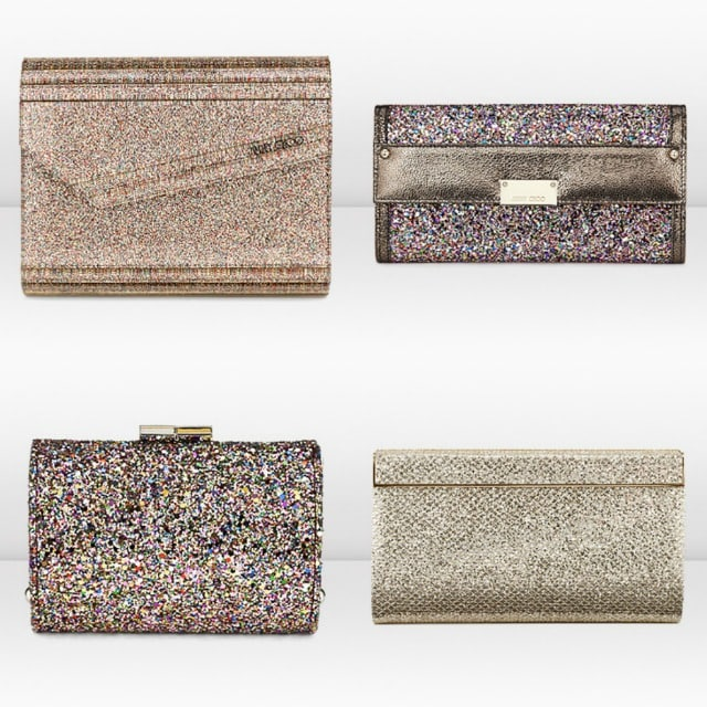 Jimmy Choo clutch cubo