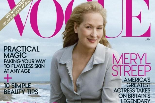 Meryl Streep per Vogue america