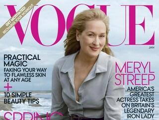La rivincita delle over: Meryl Streep sulla copertina di Vogue