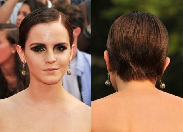 Nuovo taglio di capelli di emma watson