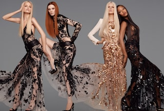 Naomi, Kristen, Karen, Daphne: le 4 muse di Roberto Cavalli