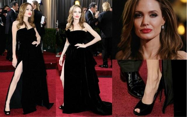 Angelina Jolie Oscar 2012