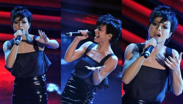 Dolcenera terza serata Sanremo 2012