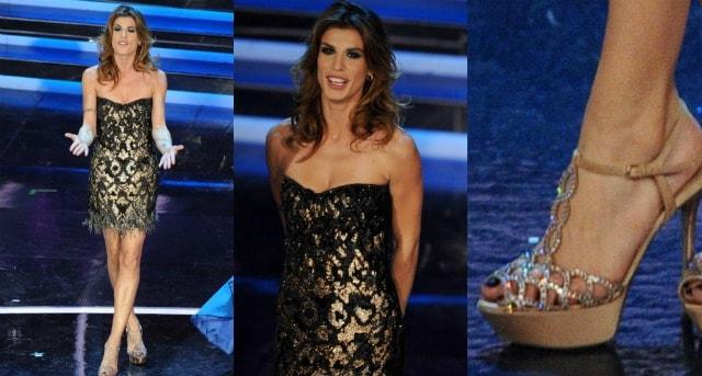 Elisabetta Canalis sanremo 2012 seconda serata