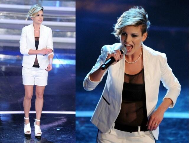 Emma Marrone Sanremo 2012 seconda serata