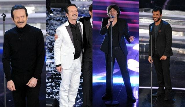 Gli uomini di Sanremo 2012 finale