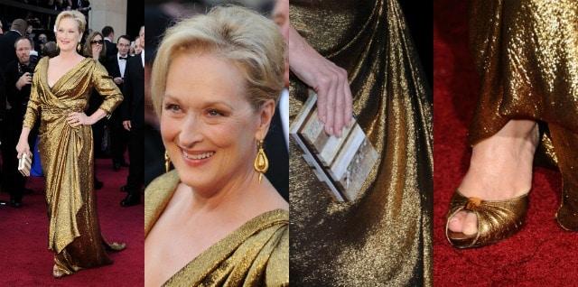 Meryl Streel Oscar 2012
