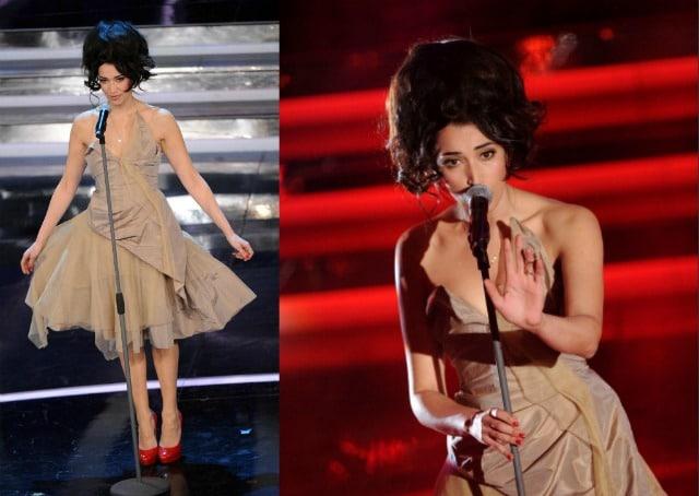 Nina Zilli Sanremo 2012