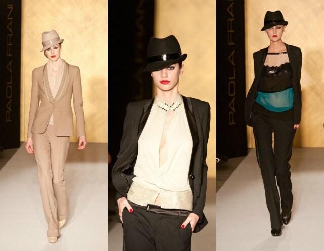 Paola frani Fashion show