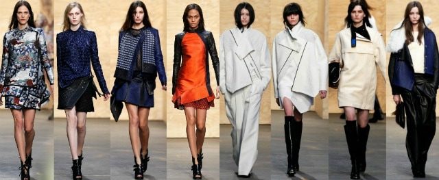 Proenza Schouler new york fashion week 2012