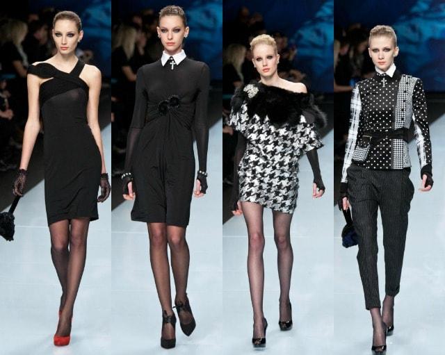 Roccobarocco fashion show Milano Moda Donna 2012