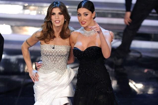 Sanremo 2012 i look della prima serata