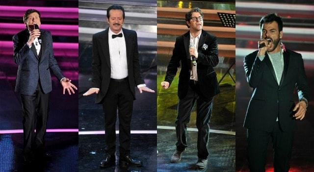 Sanremo 2013 terza serata look maschili