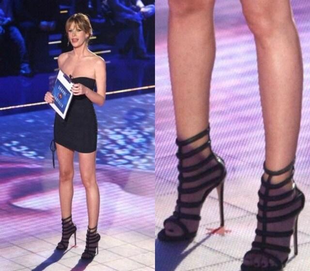 Alessia Marcuzzi look 14 puntata gf 12